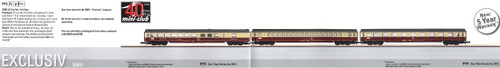 M87281  2013Q? Blue Star Train Intermediate 1st Class 3-Car Set Excl. 3/2012 (Z