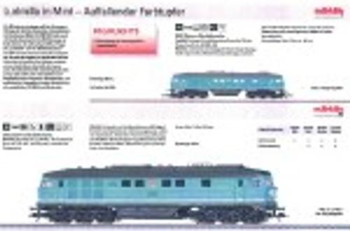 M88131  2009Q4 DB AG Class 234 Ludmilla Diesel Locomotive Excl 3/09