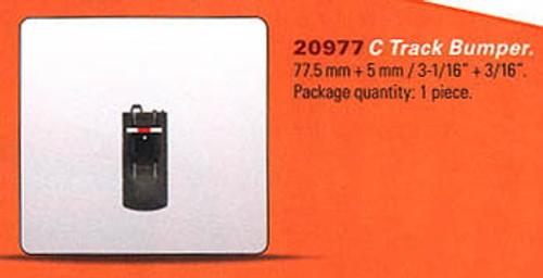 "20977 3-Rail C Track - My World -- Bumper 3-1/16"" + 3/16""  7.8cm + .5cm"