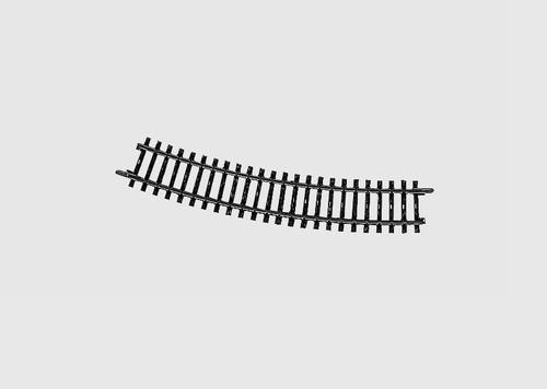 "2232 K Track -- 16-3/4"" 42.5cm, 22-Degree, 30' Radius Curve"