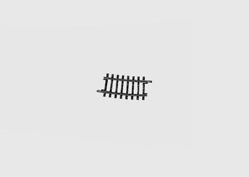 "W441-2234  K Track -- 16-3/4""  424.6mm, 7-Degree, 30' Radius Curve"