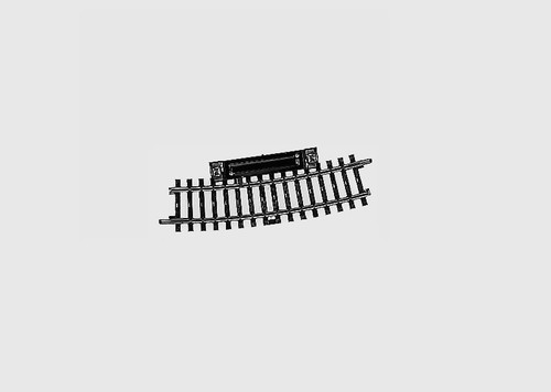 """W441-2239  K Track -- Curved Circuit Track 16-3/4"""" 424.6mm 15 Degrees"""