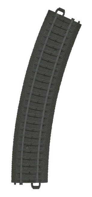 W441-23130  Curved Plastic Track - My World -- Track for Battery-Operated Train Sets