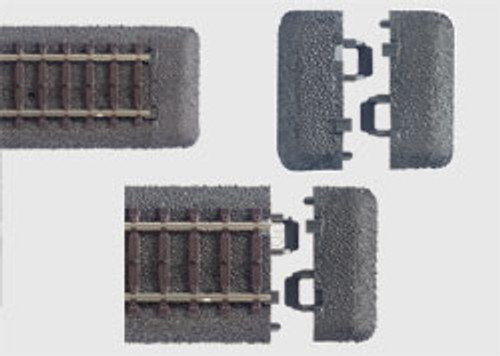 24001 C-Track -- End Piece/Roadbed pkg(10)