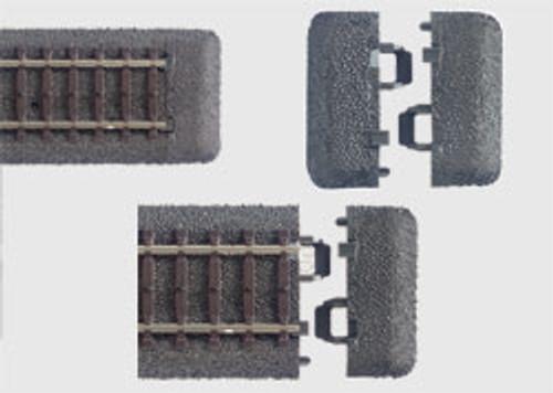 W441-24001  C-Track -- End Piece/Roadbed pkg(10)