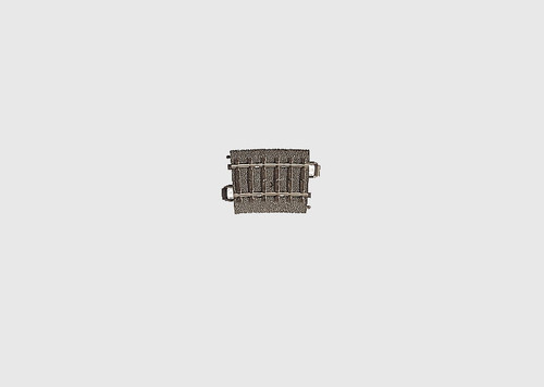 """24107 6A  C Track -- Curved - 14-3/16""""  36cm"""