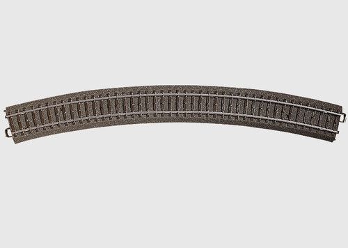 "24530 1A  3-Rail C Track -- R5 Curved, 25-5/16""  64.4cm Radius, 30 Degrees"