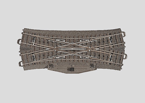 24624 3-Rail Double Slip Electric Turnout C-Track
