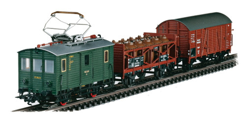 W441-26194  Class ET 194 Freight Train-Only Set - 3-Rail w/Digital - Exclusive -