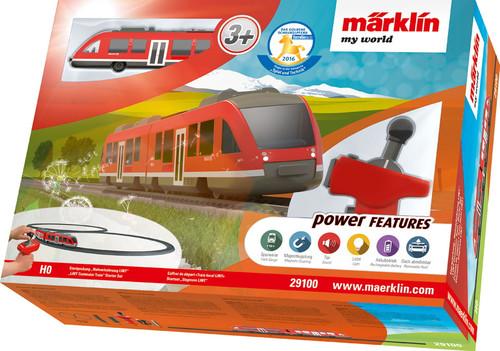 W441-29100  My World LINT Commuter Train Battery Starter Set