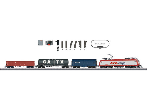 W441-29351  Benelux Starter Set - 3-Rail w/Digital & Mobile Station -- Luxembourg State Railways CFL (Era VI) 230 Volts