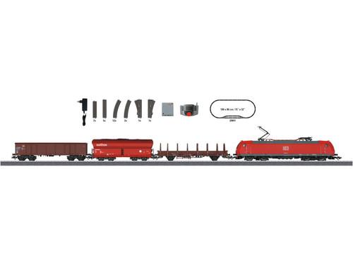 W441-29841  Modern Freight Service Starter Set - 3-Rail w/Digital & Mobile Station -- German Railroad DB AG (Era V) 230 Volts