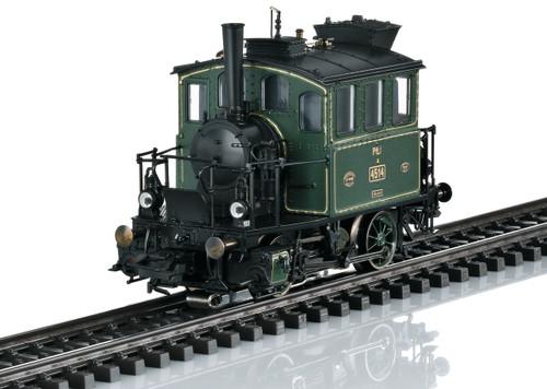 36867 Class 98.3 PtL 2/2 0-4-0 Glasskasten-Glassbox - 3-Rail - Sound and Digital -- Royal Bavarian State Railroad K.Bay.Sts.B. (Era I 1910, green, black)