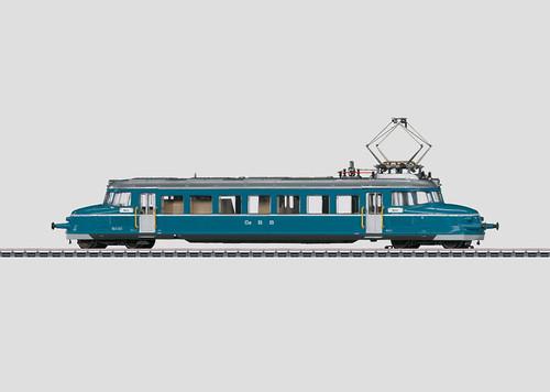 W441-37867  Class RBe 2/4 Blauer Pfeil/Blue Arrow Electric Railcar Digital & Sou