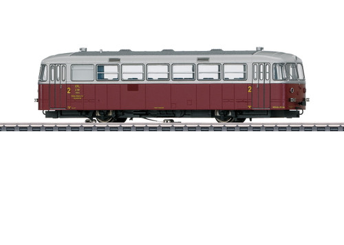 39954 Class Z 161(VT 95.9) Railcar - 3-Rail - Sound and Digital -- Luxembourg State Railways CFL (Era III 1964-1965, silver, red)