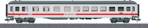 40502 Type ARkimbz 266.7 ICE Bistro Diner - 3-Rail Ready to Run - Start up -- German Railroad DBAG (Era VI, white, gray, red)
