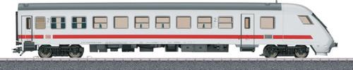 40503 Type Bimdzf 271.0 ICE Cab Car - 3-Rail Ready to Run - Start up -- German Railroad DBAG (Era VI, white, gray, red)