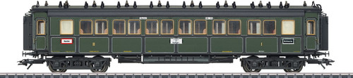 41369 Type ABBu 1st/2nd Class Car - 3-Rail Ready to Run -- Royal Bavarian State