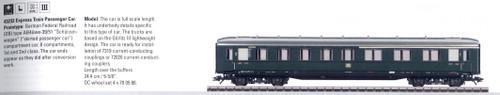 W441-43232  Passenger Car 1st/2nd Class -- Schurzenwagen (DB)