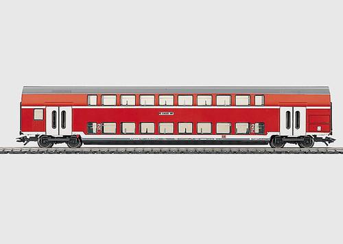 43585 Type DBz Bilevel 2nd Class Car -- German Railroad Inc. (DB AG)