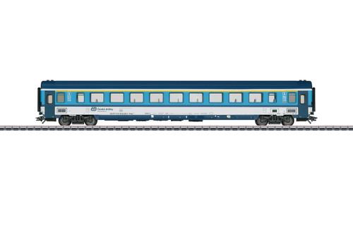 43762 Type Ampz 143 1st Class Coach - 3-Rail - Ready to Run -- Czech Railways CD
