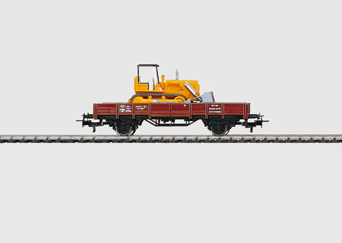 4424 Low-Side Gondola/Bulldozer -- DB