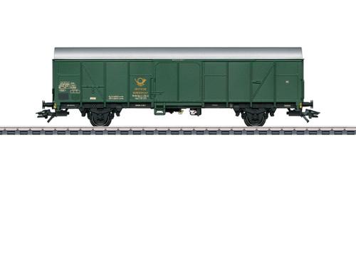 W441-47360  Type Post 2ss-t/13 Railroad Postal Transport Car - 3-Rail - Ready to