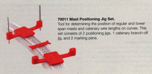 W441-70011  Marklin HO Catenary -- Mast Positioning Jig Set