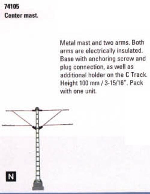 """74105 Marklin HO Catenary -- Center Mast  Height: 3-15/16"""""""