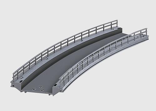 "W441-74623  C-Track -- Curved Ramp - 17-1/4""  43.8cm Radius (R2)"