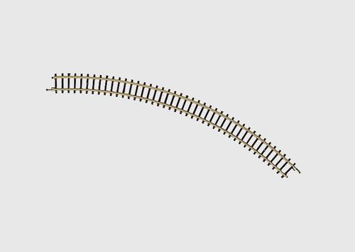 """8520 Curve Track -- 7-11/16""""  19.5cm Radius, 45-Degree"""