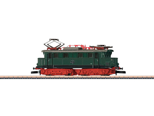 88113 Class E 244 Electric - Standard DC -- German State Railroad DR (Era IV, green, silver, red)
