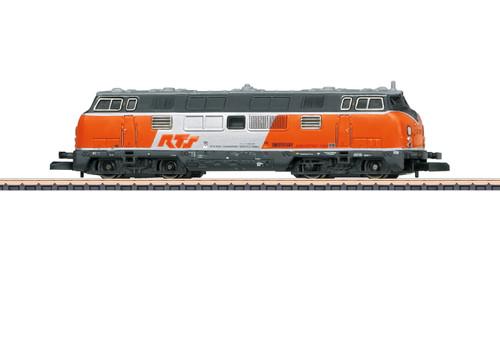 88204 Class 221 Diesel - Standard DC -- Rail Transport Service (Era VI 2013, orange, gray, white)