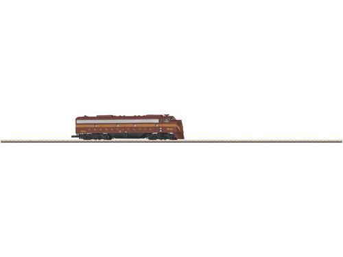 W441-88629  EMD E8A - Standard DC -- Pennsylvania Railroad (Tuscan, 5-Stripe)