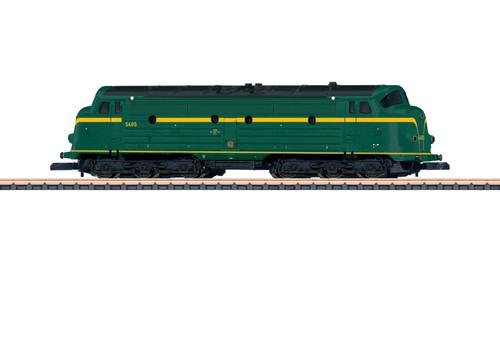 88634 NOHAB Class 54 Diesel - Standard DC -- Belgian State Railways SNCB-NMBS (Era IV, green, yellow)