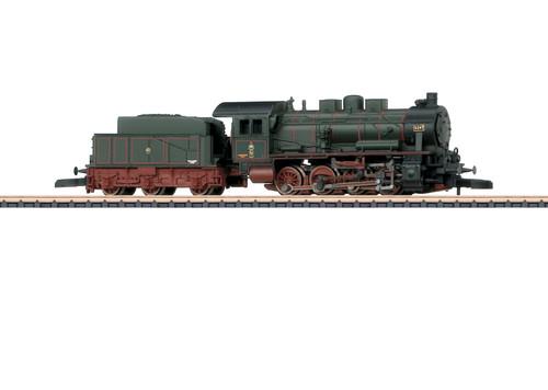 88985 Class G 8.1 0-8-0 - Standard DC -- Royal Prussian Railroad Administration K.P.E.V. (Era I, green, red)