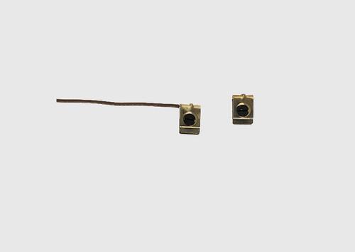 W441-8927  Catenary -- Terminal Clips, Includes 2 Set Screw Clips w/ and 3 w/o Wires