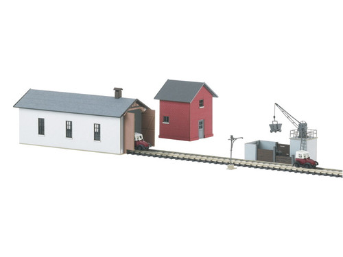 W441-89805  Branchline Maintenance Facility -- Laser-Cut Cardstock Kit - Include