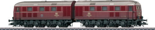 M37285  Wholesale Pricing!   Digital cl V 188 Heavy Double Diesel Locomotive - Exclusiv -- DB, Weathered