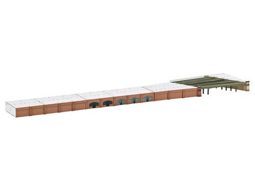 M89793  Wholesale Pricing! 2015 Arcades and Bridges Building Kit Set for Dammtor Station (Z Scale)
