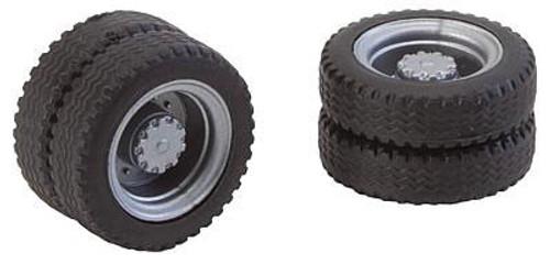 W272-163103  Dually NQ Truck Tires & Rims - Car System -- Fits Starter Set Vivil Bus