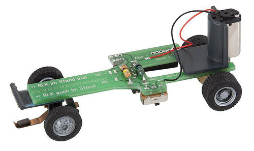 "W272-163703  Car System Conversion Chassis - Kit -- With Adjustable Wheelbase 1-1/2 x 3-1/2""  38-88mm (Batteries Sold Separatel"