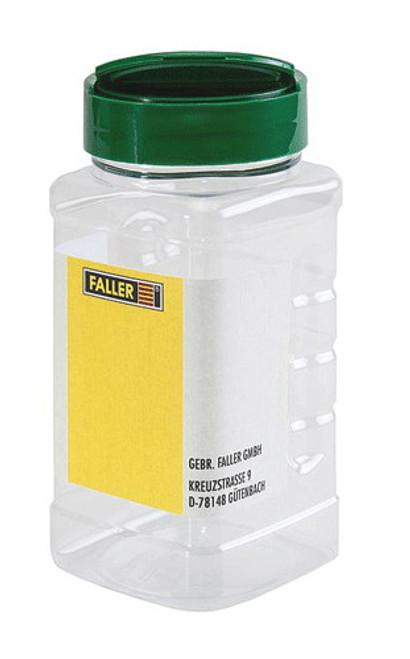 W272-171700  Empty Shaker Storage Bottle -- Clear w/Blank Label