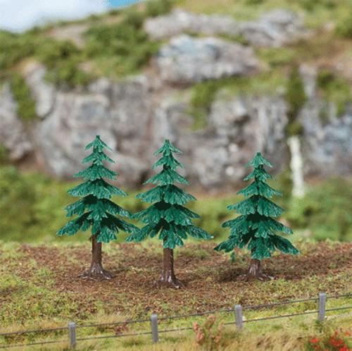 """W272-181602  Fir Trees -- 2""""  5cm pkg(3)"""