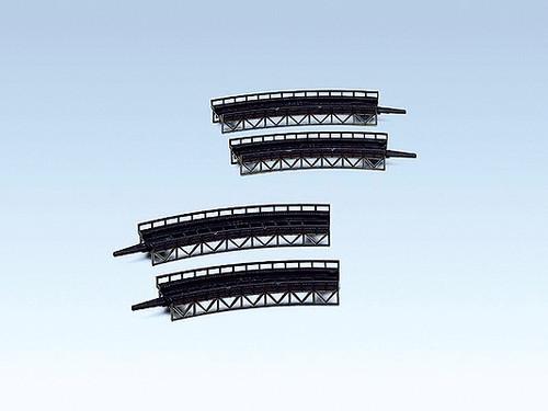 "W272-282905  Bridges-Curved Steel -- 1/8 x 7-5/8""R  .2 x R19.5cm    1/8 x 8-1/2"""