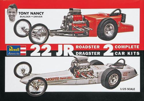 RMX851224  1/25 TONY NANCY 22 JR. DRAGSTER 2N1
