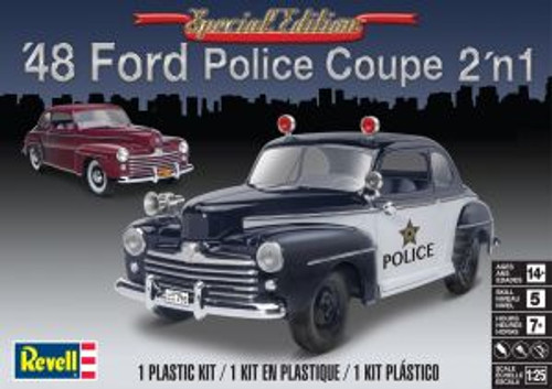 RMX854318  854318 1/25 '48 Ford Police Coupe 2n1