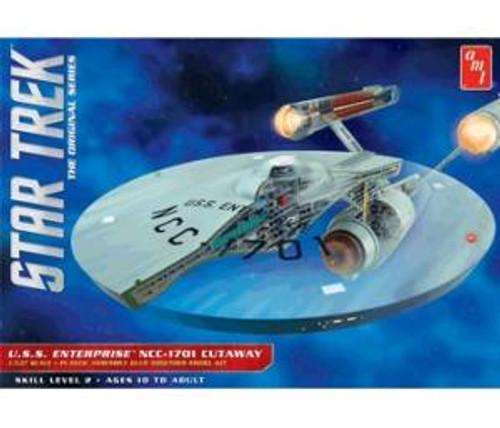 AMT891  AMT891/06 1/537 Star Trek TOS Enterprise Cutaway