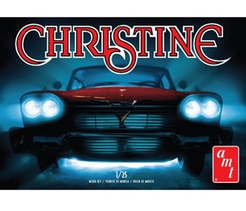 AMT-801  1/25 1958 Plymouth Christine Car (Red)