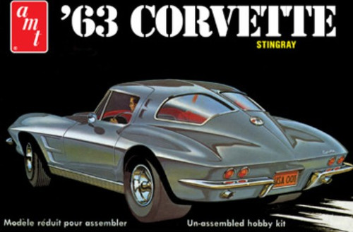 AMT-861  1/25 1963 Chevy Corvette Sting Ray Car